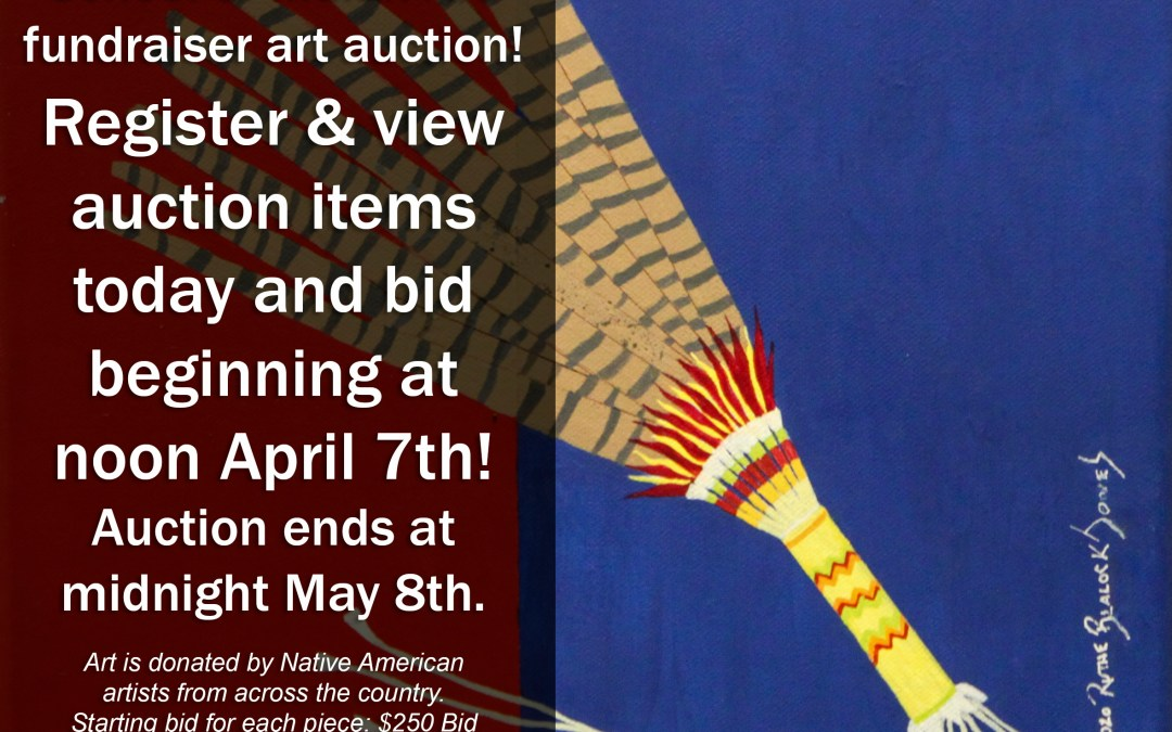 Join us for the Bacone College School of Indian Art auction