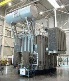 Since 1999, Dominion has purchased more than 60 power transformers like this 500  kv unit from Smit Transformers.