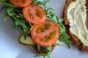 Anti Hangover Sandwich mit Pastrami und Bacon