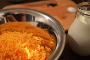 Cheddar Cheese Soße