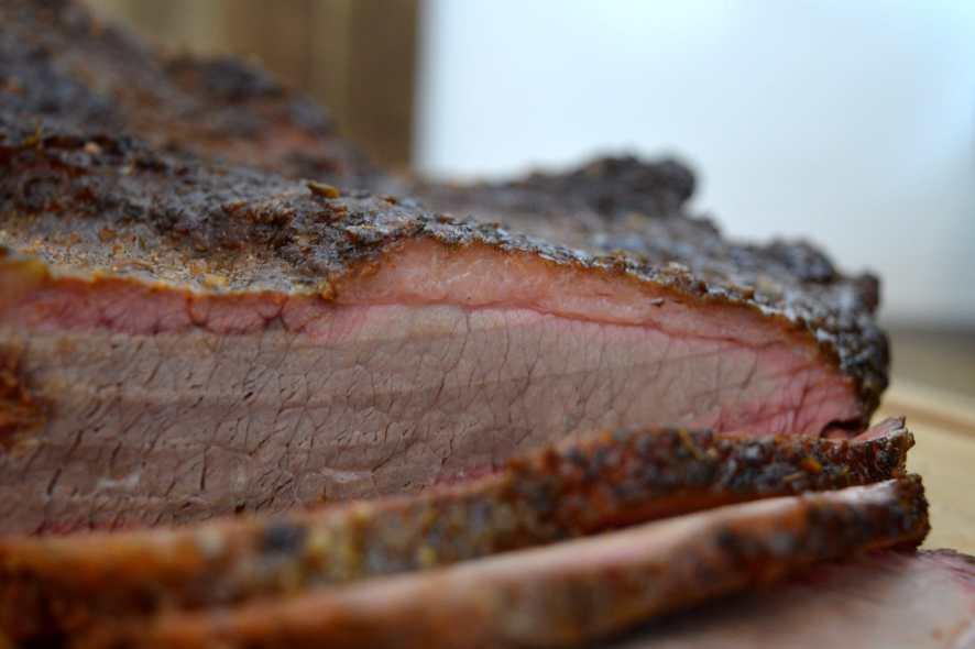 Beef Brisket im WSM - Watersmoker Brust Rezept