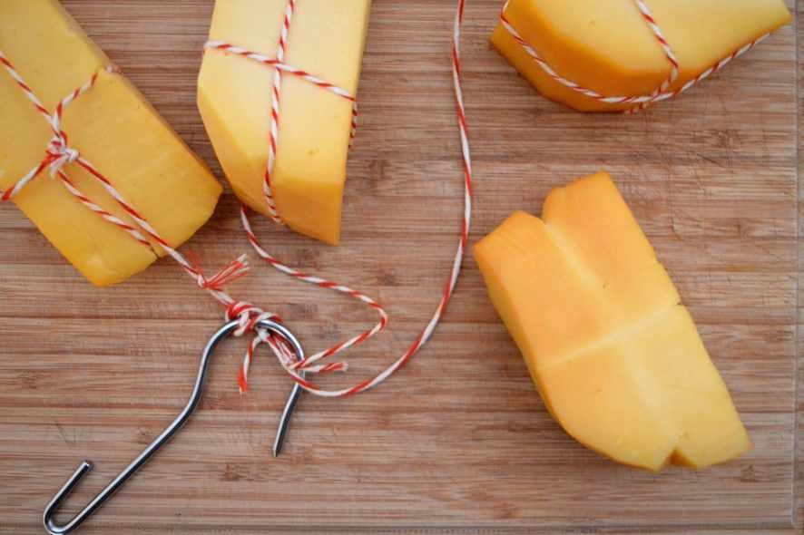 Kaltgeräucherter Käse - Käse selbst räuchern