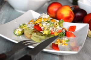 HelloFresh Grillbox Burger - Gegrillter Salat