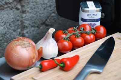 Rezept - Zutaten für Asado Salsa
