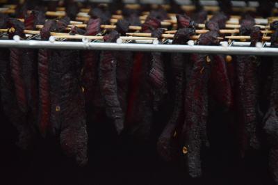 Rezept für fruchtiges Beef Jerky vom Grill