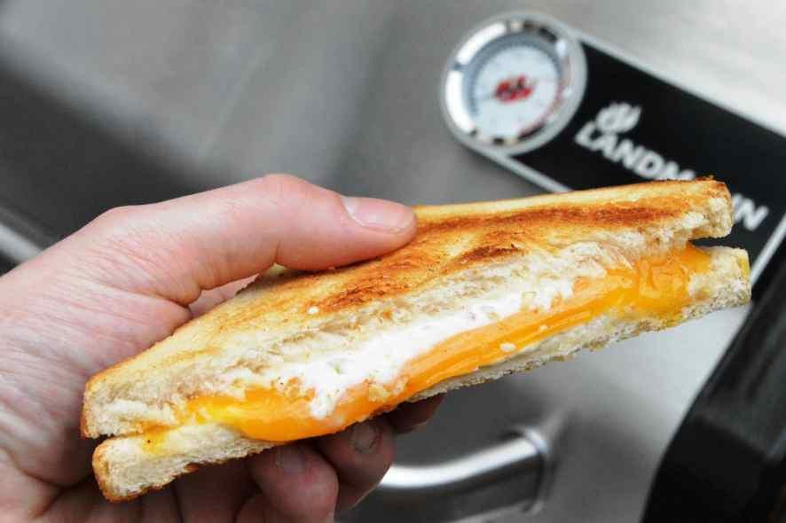 Rezept für Grilled Cheese - Der amerikanische Klassiker