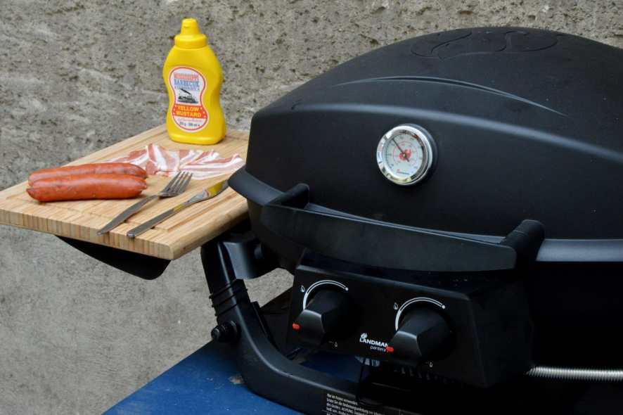 Landmann Gasgrill Indirektes Grillen : Grillen in der stadt mit dem landmann pantera 2.0 bacon zum steak