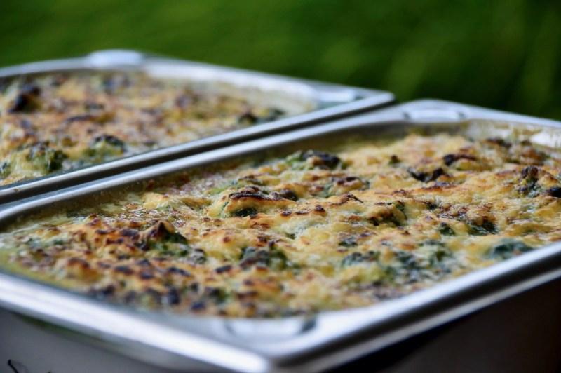 Cheesed Spinach - Rezept für Käse-Spinat vom Grill