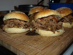perfektes pulled pork im backofen bacon zum steak. Black Bedroom Furniture Sets. Home Design Ideas
