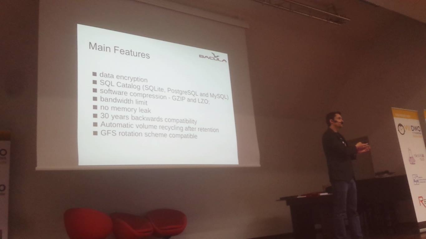 Bacula Open Source Days Conference Poland 2015 Presentation