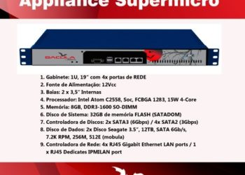 Appliance EBacula SuperMicro