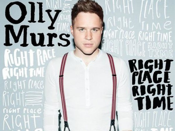 Oggi Olly Murs Right Place Right Time copertina album
