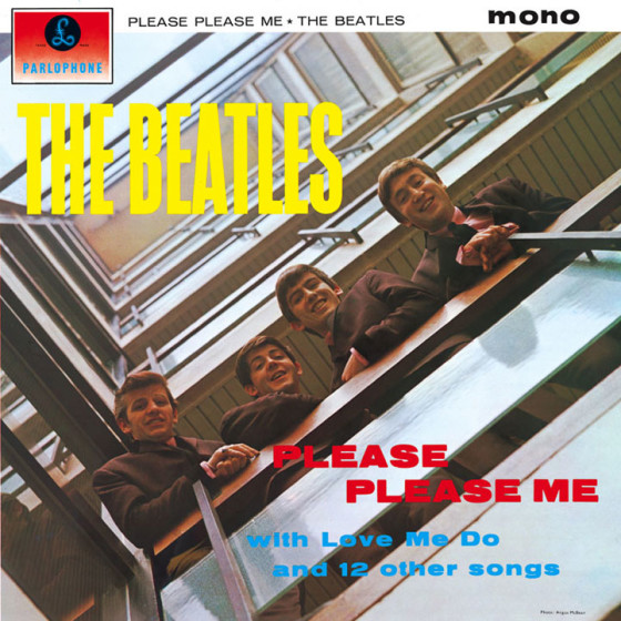 The Beatles - Please Please Me copertina album
