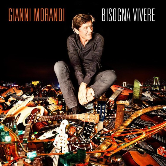Gianni Morandi Bisogna Vivere cd cover