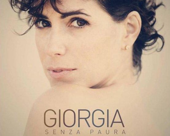 giorgia senza paura copertina cd