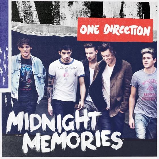 Midnight Memories copertina cd One Direction