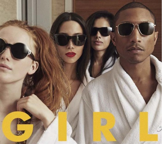 pharrel williams girl copertina disco