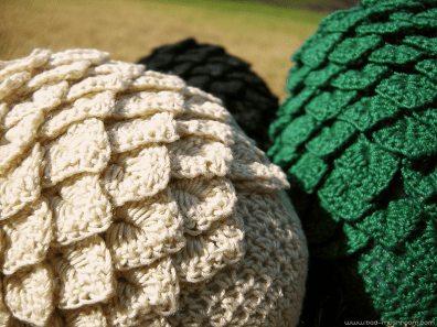 Free crochet dragon egg pattern | Bad Mushroom | 297x396