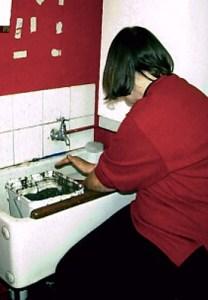 Washing bone