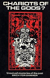 "The cover of the English edition of ""Chariots of the Gods?"""