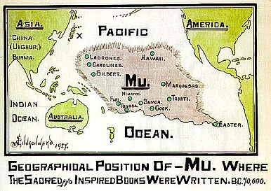 mu occupying much of the pacific ocean