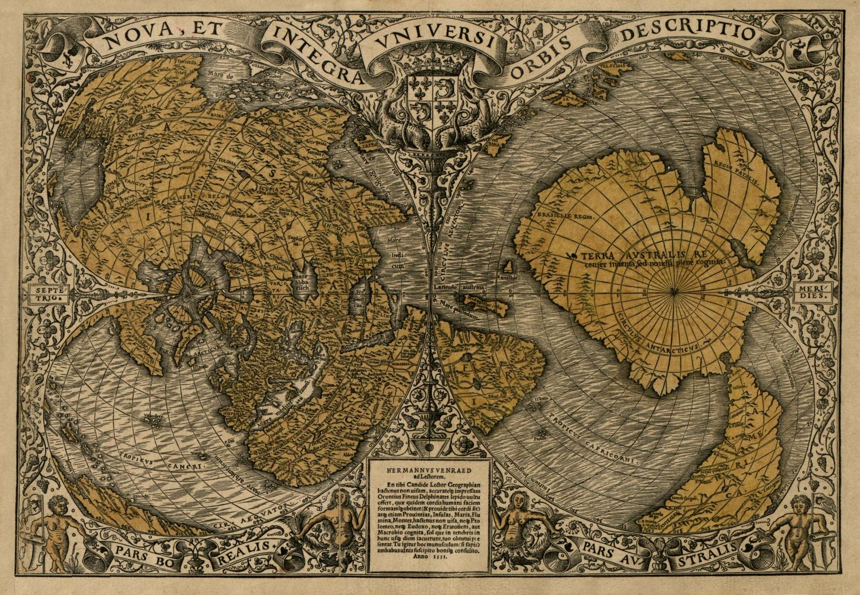 The Orontius Finaeus map of 1531
