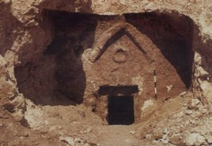 The so-called 'Jesus family tomb'
