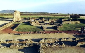 The baths at Wroxeter