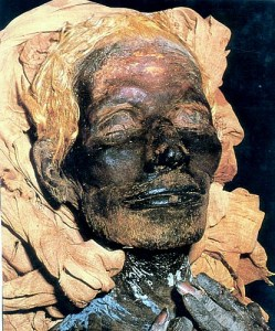 The mummy of Yuya