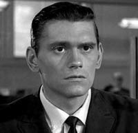 Dick York, who was in The Twilight Zone with the coin landing on edge