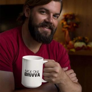 Nice One Bruvva Mug Mockup1