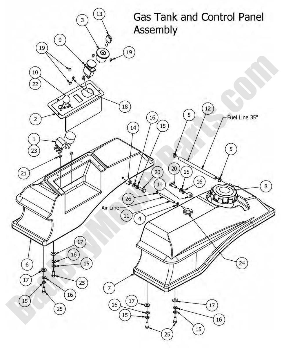 Bad boy mower parts 2016 mz gas tank control panel diagram bad boy wiring diagram