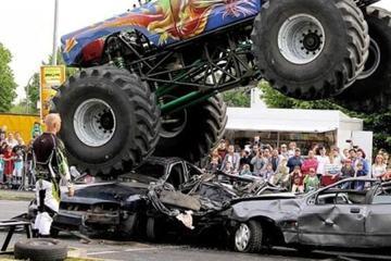 badchix monster truck slams into crowd in haaksbergen