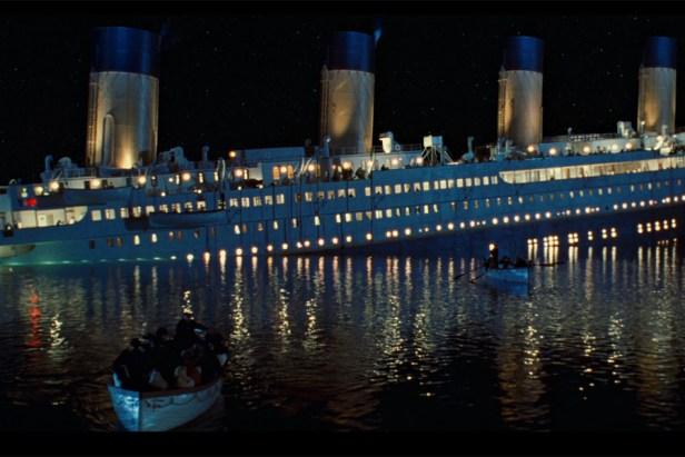 titanic fails