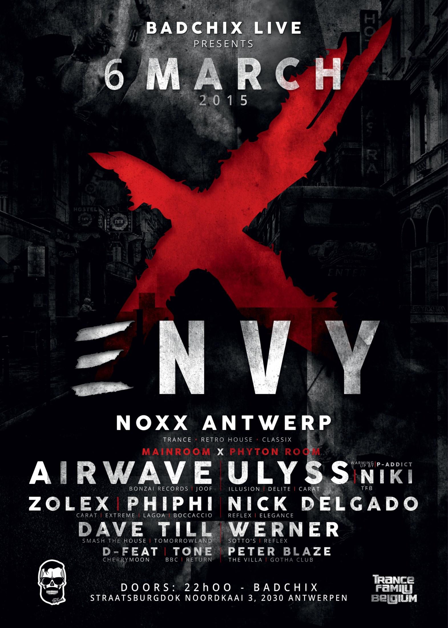 ENVY - 6 MARCH 2015 - NOXX ANTWERP 2