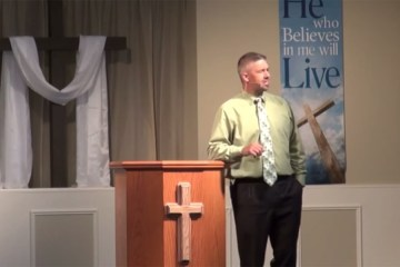 Pastor Punches Kid