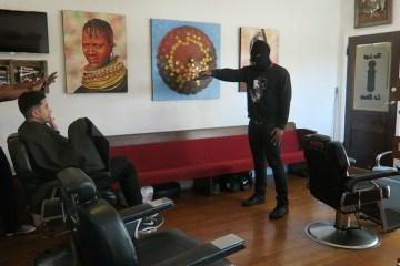 Barbershop Murder Prank