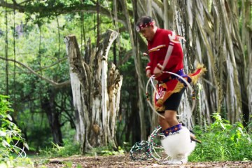 Native Hoop Dancers