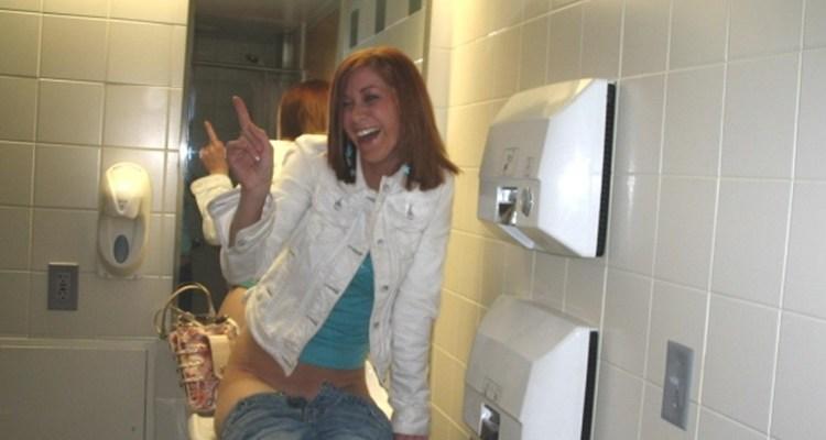College drunk peeing