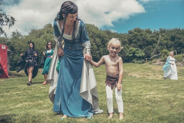 Hobbit-mad couple transform their garden into Middle Earth 7