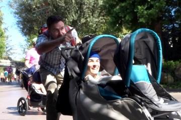 sneak into theme parks