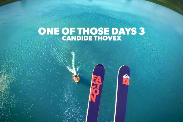 One of those days With Candide Thovex