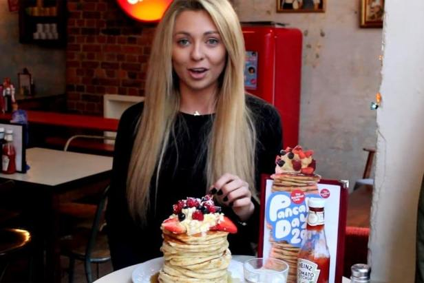 Pancake Day Food Challenge with Kate Ovens