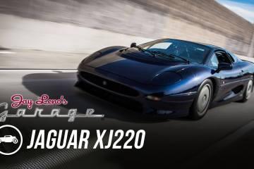 Jaguar XJ220 jay leno