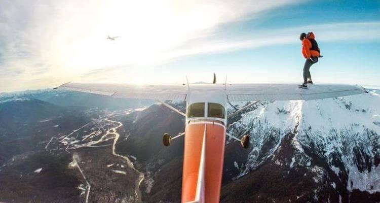 Daily Fresh Baked Randomness plane stunt