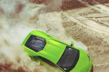 green lamborghini Daily Fresh Baked Randomness