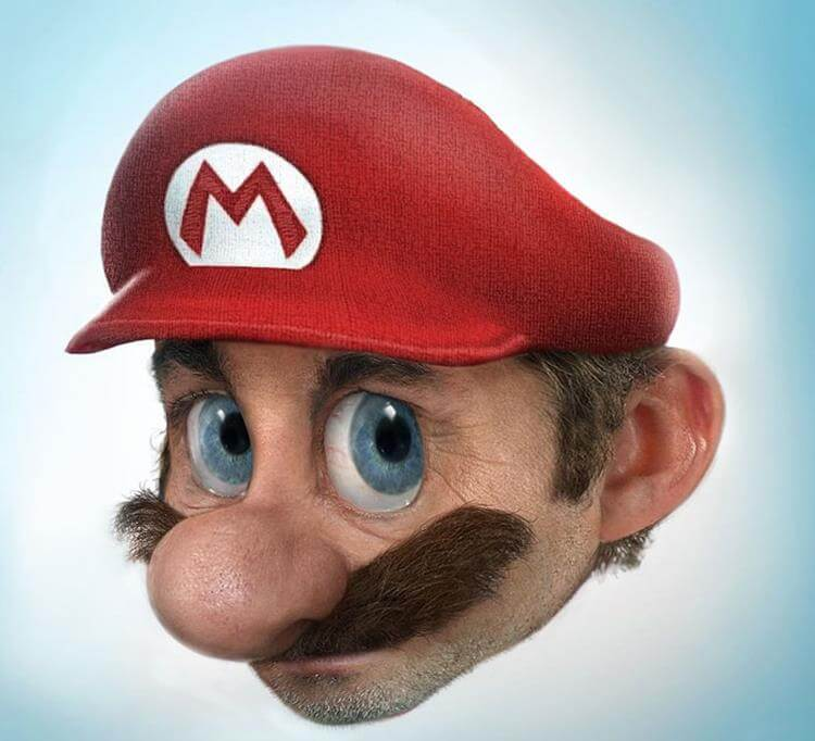 Ultra Realistic Characters we All Know - Super Mario