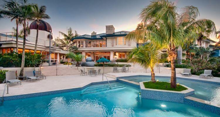 Open House mansion lifestyle pool