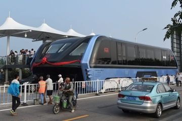 China's Transit Elevated Bus (TEB) Is Here