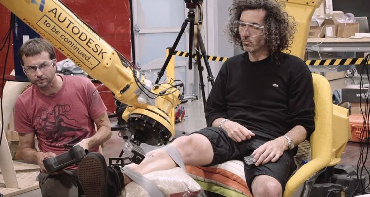 Check out this technology about a industrial robot arm becomes a Tattoo machine